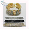 hip hop wholesale Mens 8rows cz iced out Bracelet Jewelry