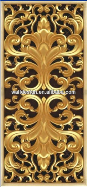 America hot sell carved mdf divider wall panels,European style ,interior decoration&wall design