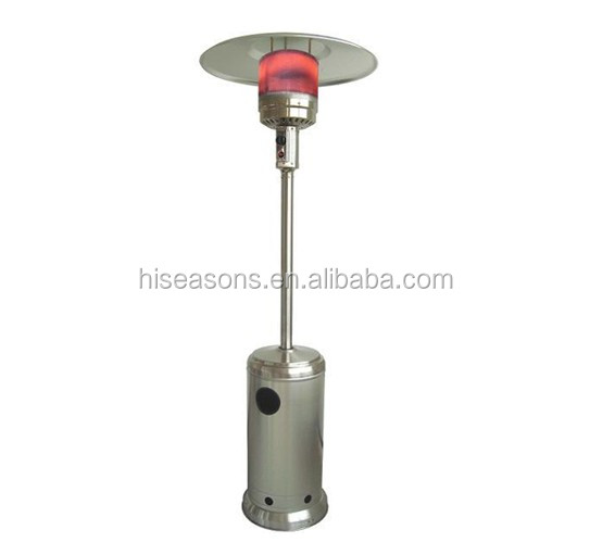 Standard Flame Patio Heater GAS with CE approval from Chinese outdoor heater supplier