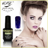 No099 MingShan manicure color dazzle color gel nail uv polish