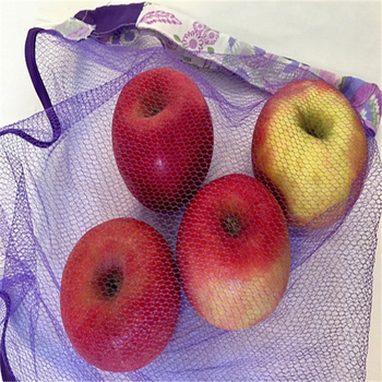 Empty Simple Cotton Potato Mesh Bag