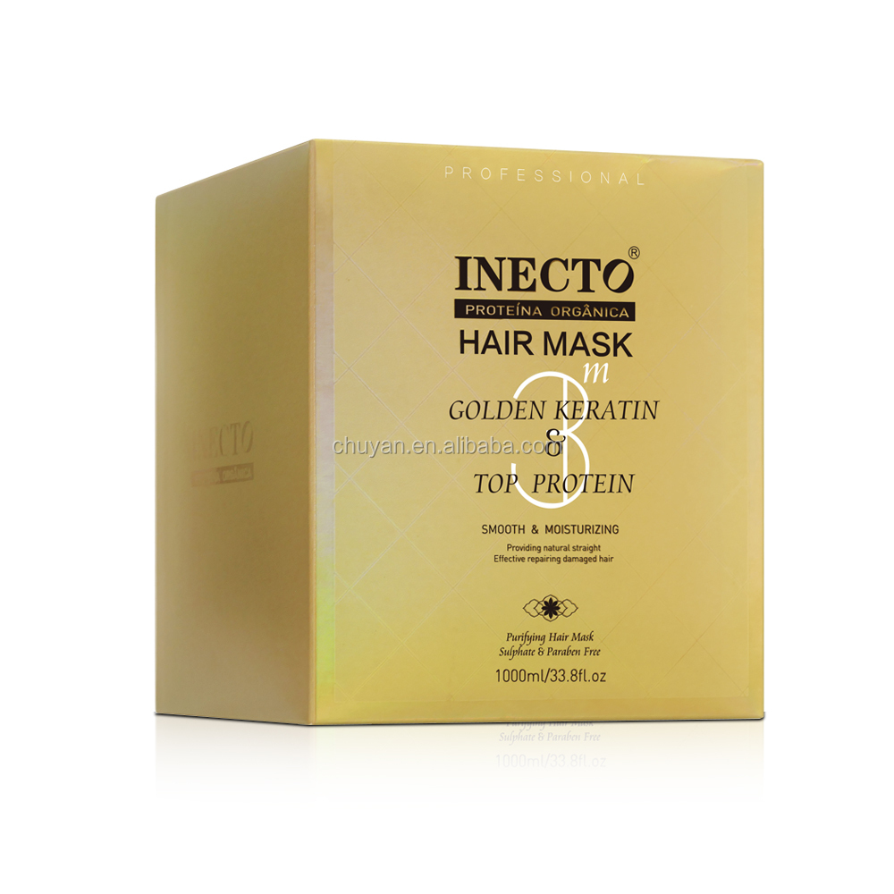 1000ml NEW INECTO deep moisturizing hair mask for damage hair