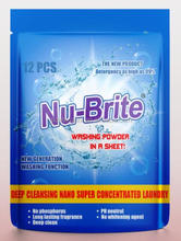 New Wholesale Super Condensed Laundry Detergent Sheet Factory