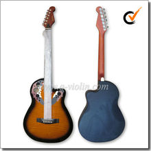 "39 "" colorida occidental de plástico redondo Cutaway <span class=keywords><strong>guitarra</strong></span> ( AFO931C )"