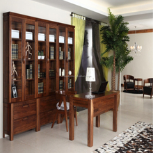 Classical Home Furniture Solid Wood Bookcases