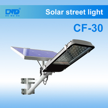 Solar fence light 12v 20w 30w street lamp solar with street lighting pole