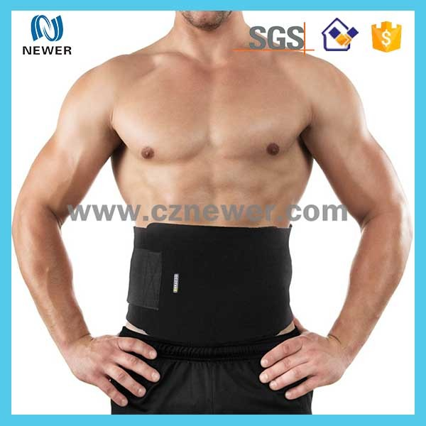 Luxury popular neoprene lower wire back mesh waist belt support
