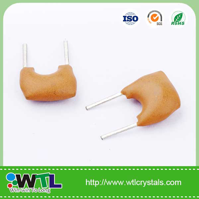 Electric Resonator RoHs Compliant ZTA 9.830MHz Ceramic Crystal Resonator