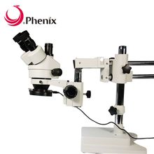 Phenix long working distance trinocular electron repair microscopes for sale