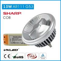 Energy Star led AR111 led spotlights,ar111 regulable lampara led