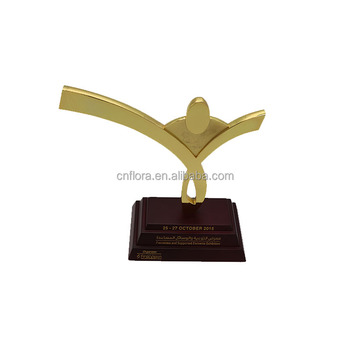 Electroplating metal award trophy figurines