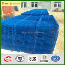 Powder coated welded wire mesh fence panel, PVC coated fence panel