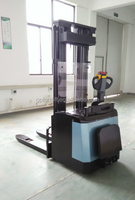 Material handling equipment 1.2T-2.0T electric stacker for hot sales