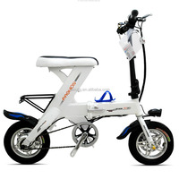 Mini Aluminum Alloy Frame Material 48v Folding Electric Mountain Bike with Shock Price