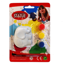 DIY Ceramic Bisque Paint Set Cute Animals Figurines With Acrylic Paint