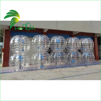 Low price human body bubble ball inflatable bumper ball for adult for sale