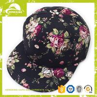 Alibaba popular custom snapback hat maker