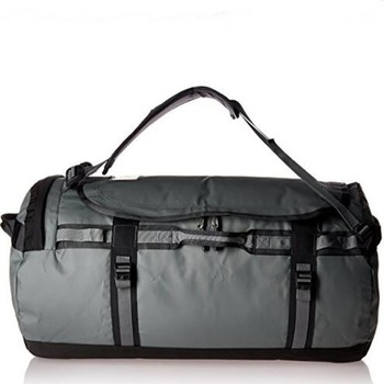 Black standard duffle bag sporty travel polyester durable bag for men
