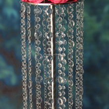 Walkway backdrop stainless steel pillars 1.2M wedding decoration flower stand