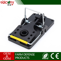 Safe durable steel and polystyrene construction mouse trap cage