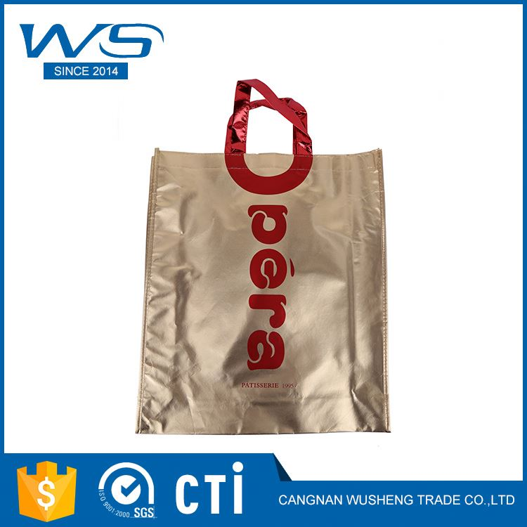 Newest sale custom design cheap promotional folding shopping bags