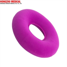 C02 Hemorrhoid Recovery Medical Inflatable Round Air Seat Cushion