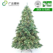 The New Year holiday decorating mini artificial cross christmas tree crafts for display