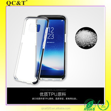 2017 NEW Arrival Transparent Case for Samsung Galaxy S8 Clear Anti shock Double Layer TPU+PC Hybrid Phone Cover Case
