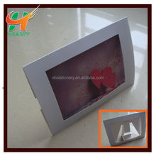 Creative promotional cardboard photo frame