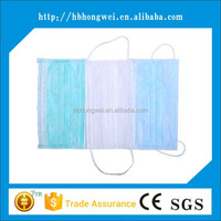 factory direct sale ear loop non woven face mask for medical use