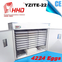 YZITE-22 Cheap CE approved full automatic bearded large incubator for sale
