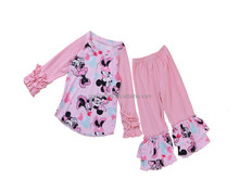 Create Hot heart turkey wholesale children clothes in stock