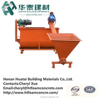 Cast-in-situ lightweight building material HT-70A foam concrete machinery&concrete block machine