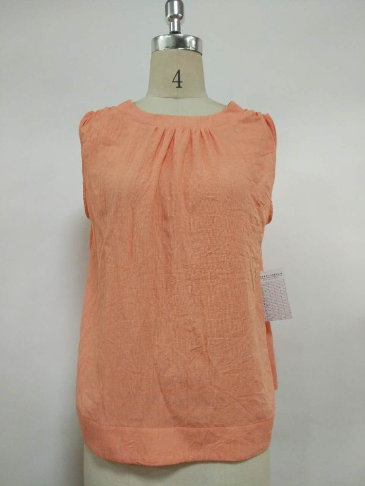 popular designs knitted sleeveless summer women ladies viscose tops