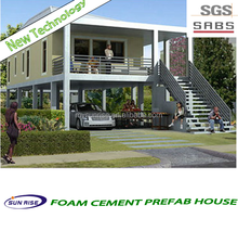 luxury cheap and quick assembled SGS TESTING for fashion and modern ready made 4 bedroom house plan