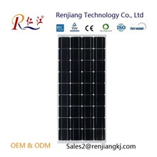 RJ Factory Mono Silicon Solar Cells pv module 145W 18v Solar Panel