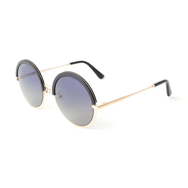 2018 factory wholesale round rimless sunglasses with promotional price