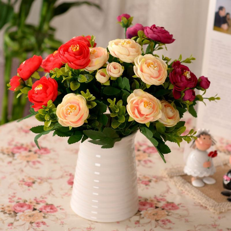 factory direct sale home decor floral interiors artificial flowers