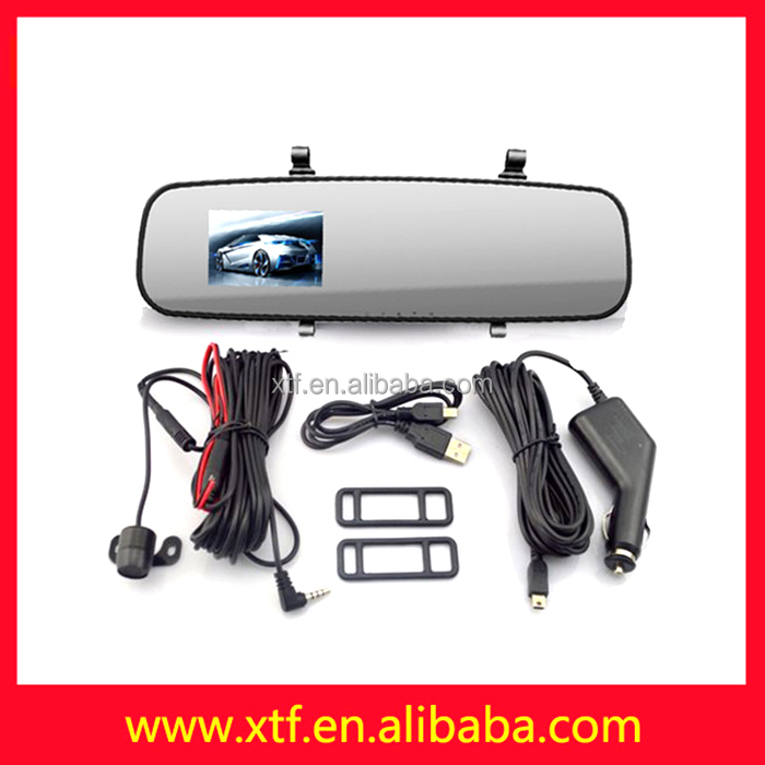 "Japanese car manuals in english 2.7 ""LCD G-sensor car accessories dubai front mirror camera"