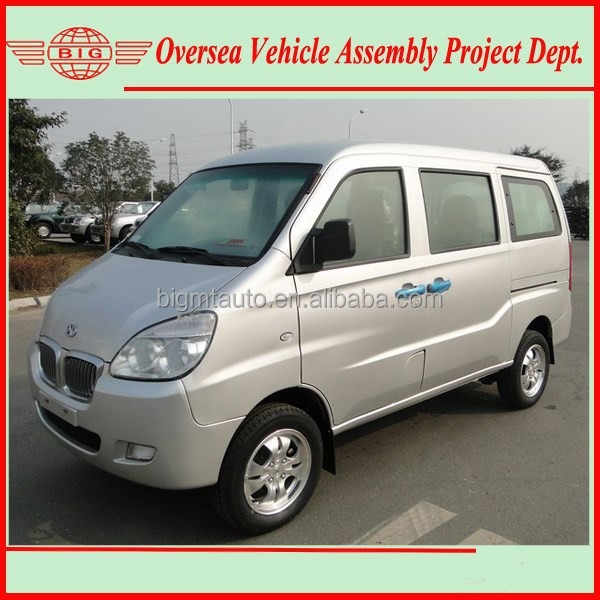 Euro IV Standard 8 Seats Gasoline Passenger Van/ China High Roof Van