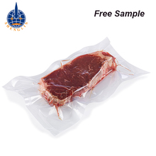Customized 3 side heat seal retort pouch nylon pe packaging bags for frozen food meat