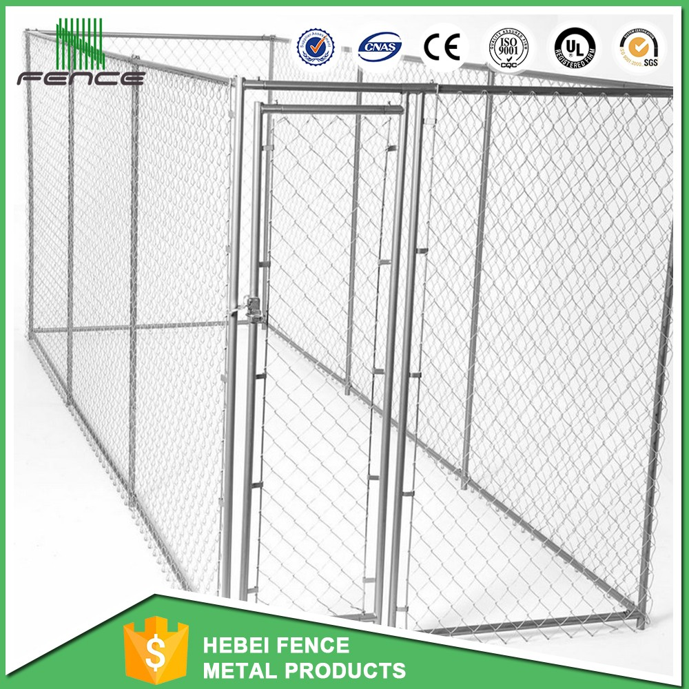 manufacturer wholesale welded wire 10x5x6 ft classic galvanized outdoor dog kennel