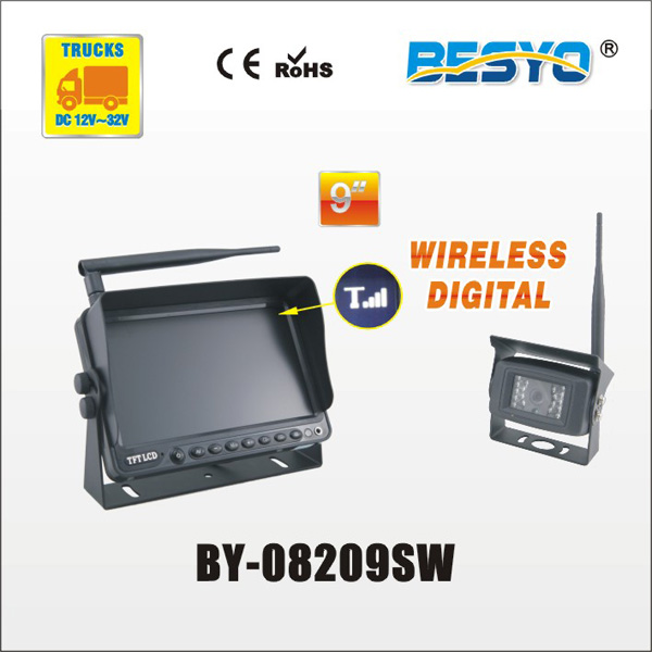 "9"" wireless digital monitor with wireless camera system BY-08209SW"