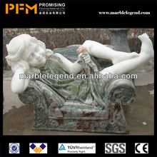 PFM Natural stone hand carved decorative pyramid statue