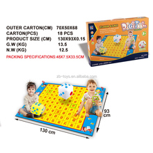 Outdoor activities giant snake ludo game