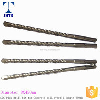 Factory sales directly, SDS Plus Drill Bit for Concrete, SDS Concrete Drill Bit, 8X450mm