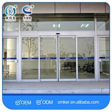 High Intelligent Automatic Double Sliding Glass Door System