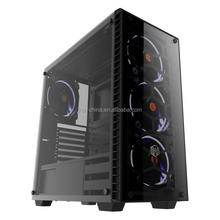 EATX Tempered Glass PC ATX Computer Gaming Case