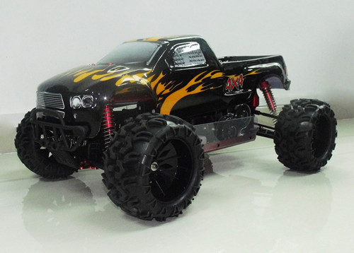 1/5th scale rc car 4WD gas powered monster truck from China toy factory