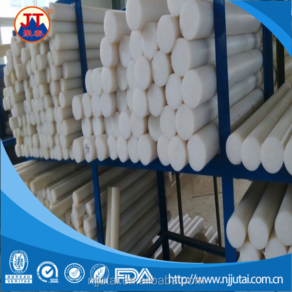White extrusion PA6 stock nylon rods